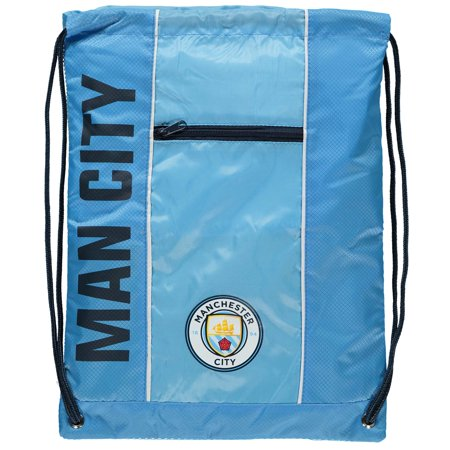 Manchester City City Club Cinch Bag - Light Blue - No Size (Manchester City Shoe Bag)