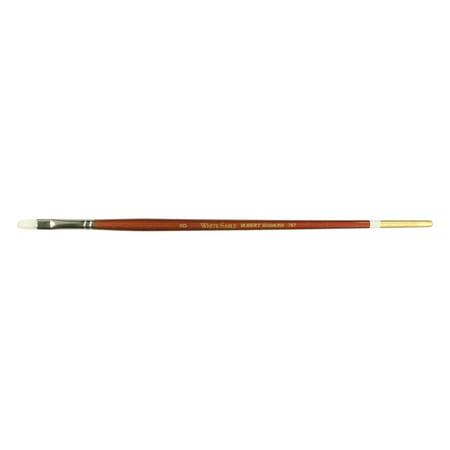 - Robert Simmons White Sable Watercolor Brush, Long Handle, Filbert, 8