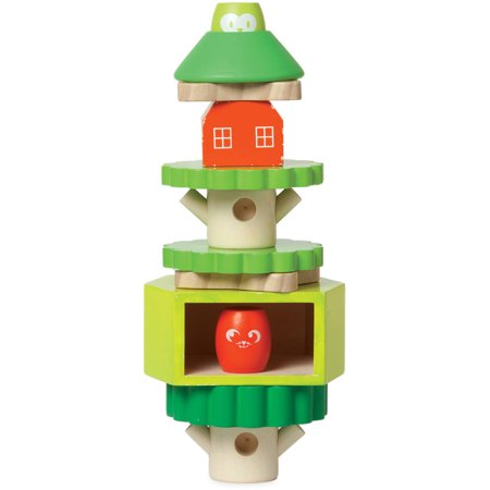 Manhattan Toy Treehouse Wooden Stack-up