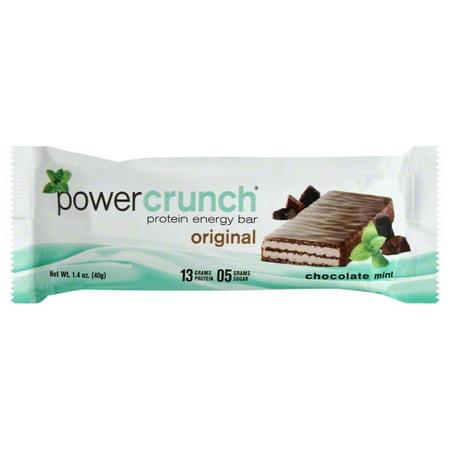 Power Crunch Protein Energy Bar, Chocolate Mint, 13g Protein