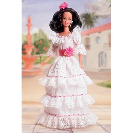 Barbie Vintage Trunk - Mattel Barbie Puerto Rican Collector Vintage Dotw Dolls of the World