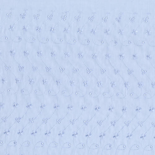"David Textiles Poly/Cotton Eyelet Fabric by the Yard, 44"" wide"