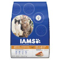 Iams ProActive Health Adult Multi-Cat with Chicken and Salmon Dry Cat Food  14.8lb. UPC 019014612116