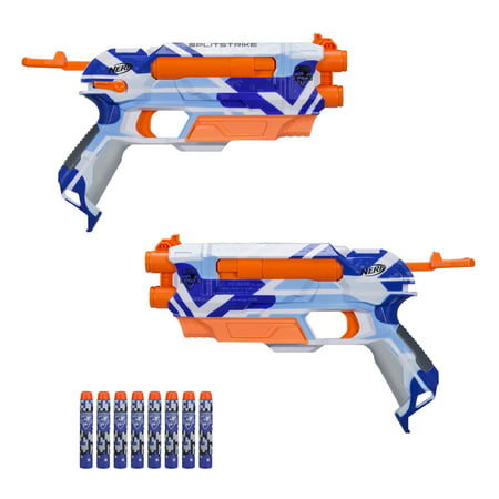 Nerf N-Strike Elite Splitstrike Blaster with 8 Nerf Elite Darts