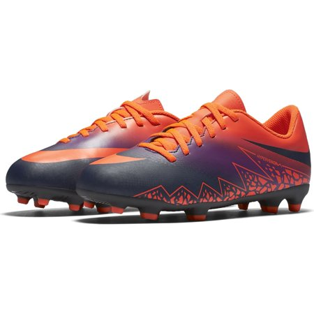 Nike Jr Hypervenom Phade II FG Firm Ground Soccer Cleats