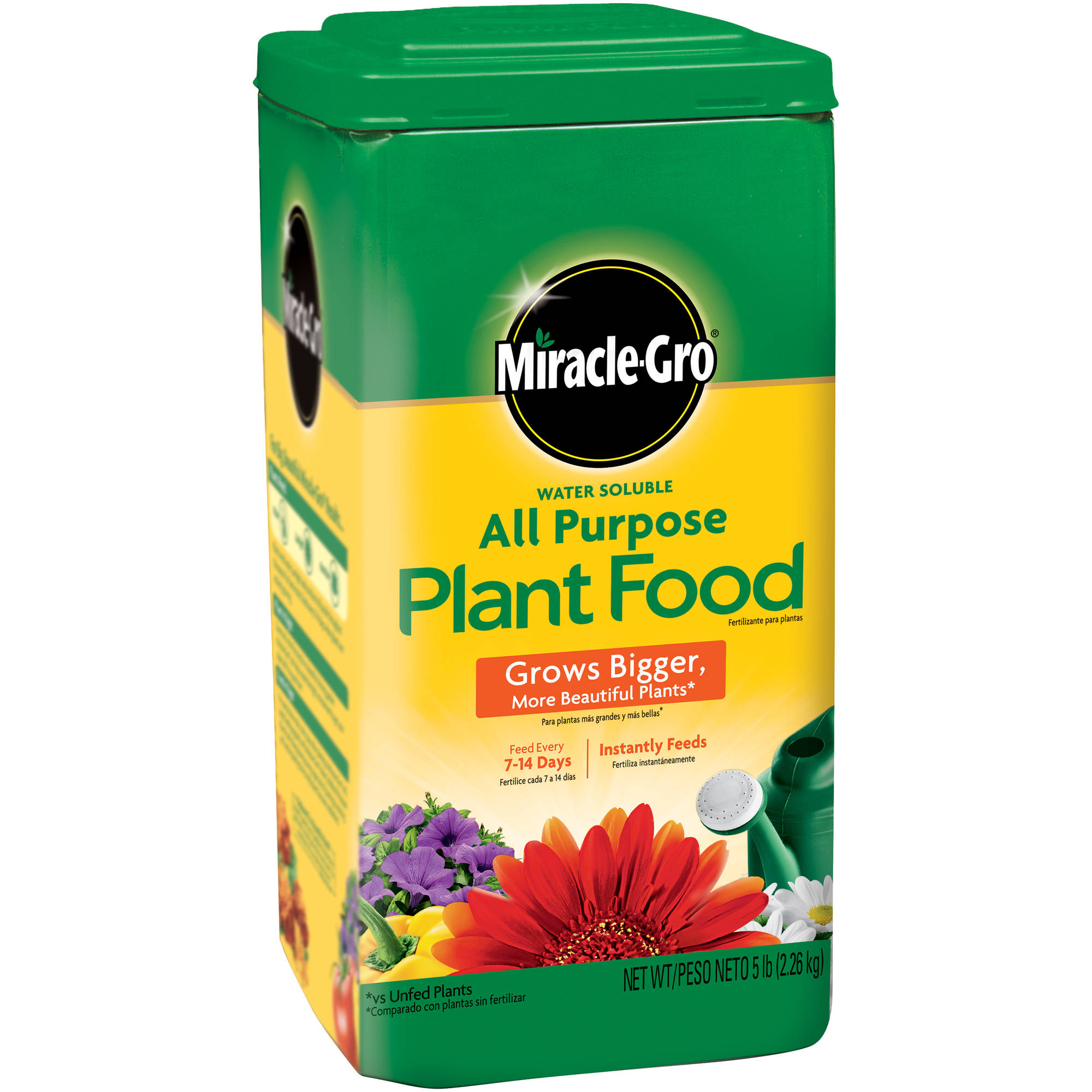 Miracle-Gro Water Soluble All Purpose Plant Food, 5#