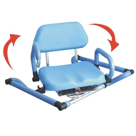 Platinum Health SafeSwivel Bath Tub Shower Chair with Padded Swivel Seat