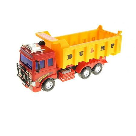 Big Dump Trucks >> Big Dump Truck Toy For Kids With Friction Power Heavy Duty
