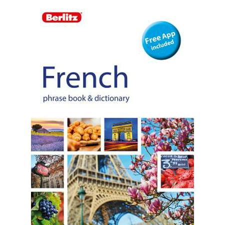 - Berlitz Phrase Book & Dictionary French