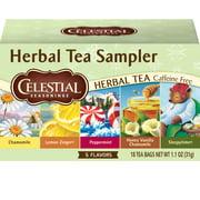 Celestial Seasonings Herbal Tea Sampler Herbal Tea, 18 Count Box