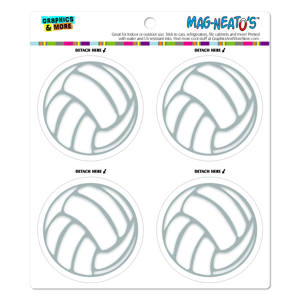 Volleyball MAG-NEATO'S(TM) Car/Refrigerator Magnet Set