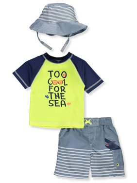 afd0ebb21e Product Image Wippette Baby Boys' 2-Piece Swim Set with Hat