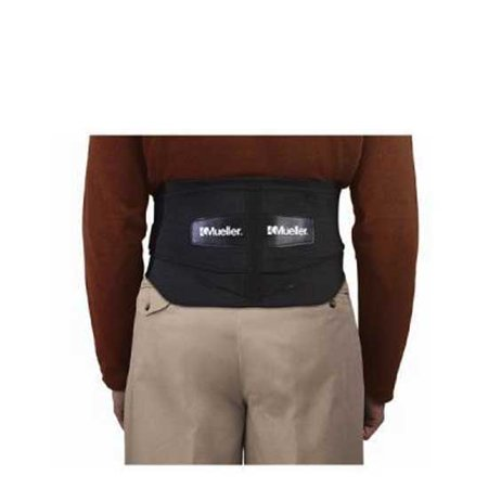 NEW MUELLER LUMBAR SUPPORT BACK BRACE WITH REMOVABLE PAD