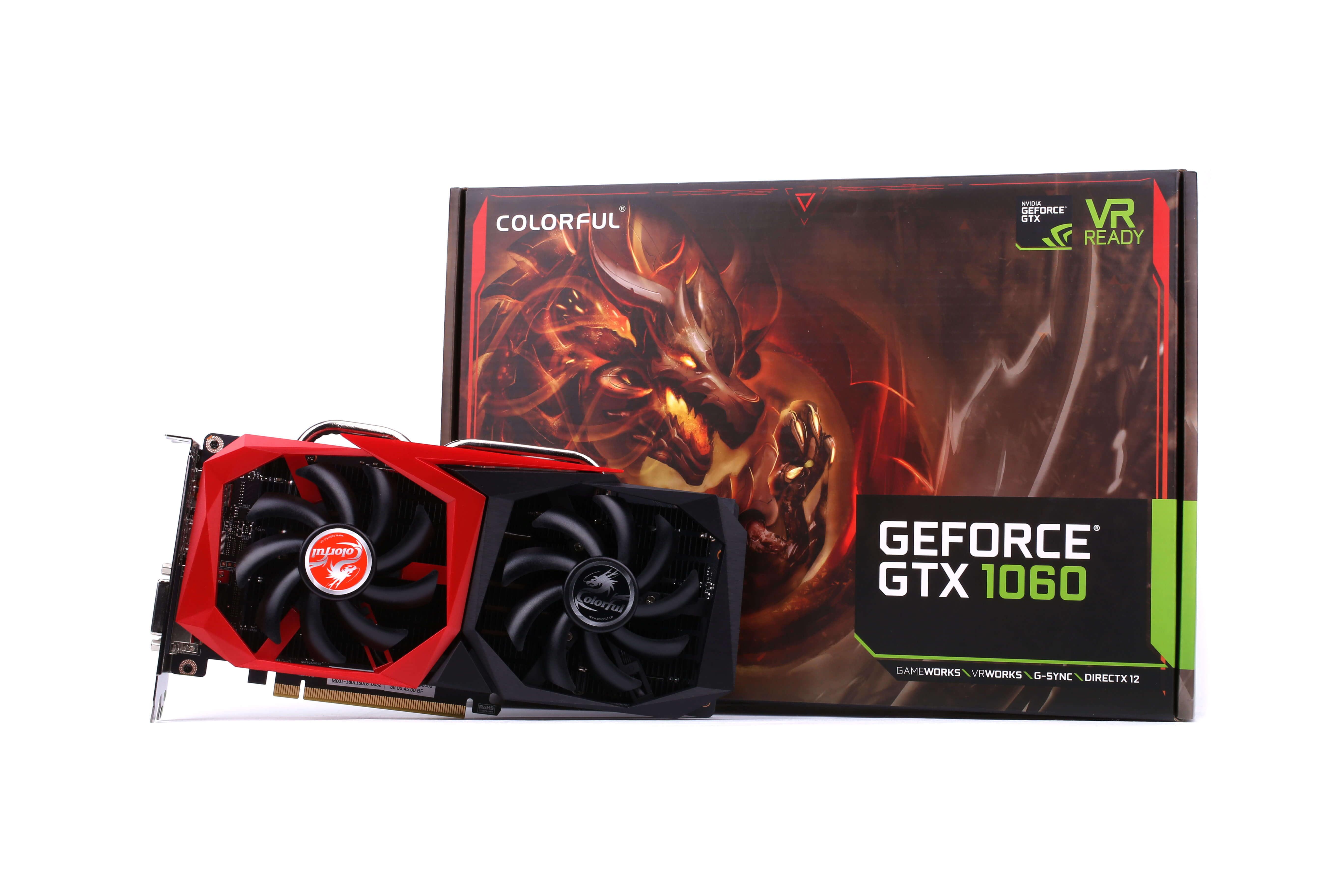 Colorful GeForce GTX 1060 NB 6GB GDDR5 Graphics Card