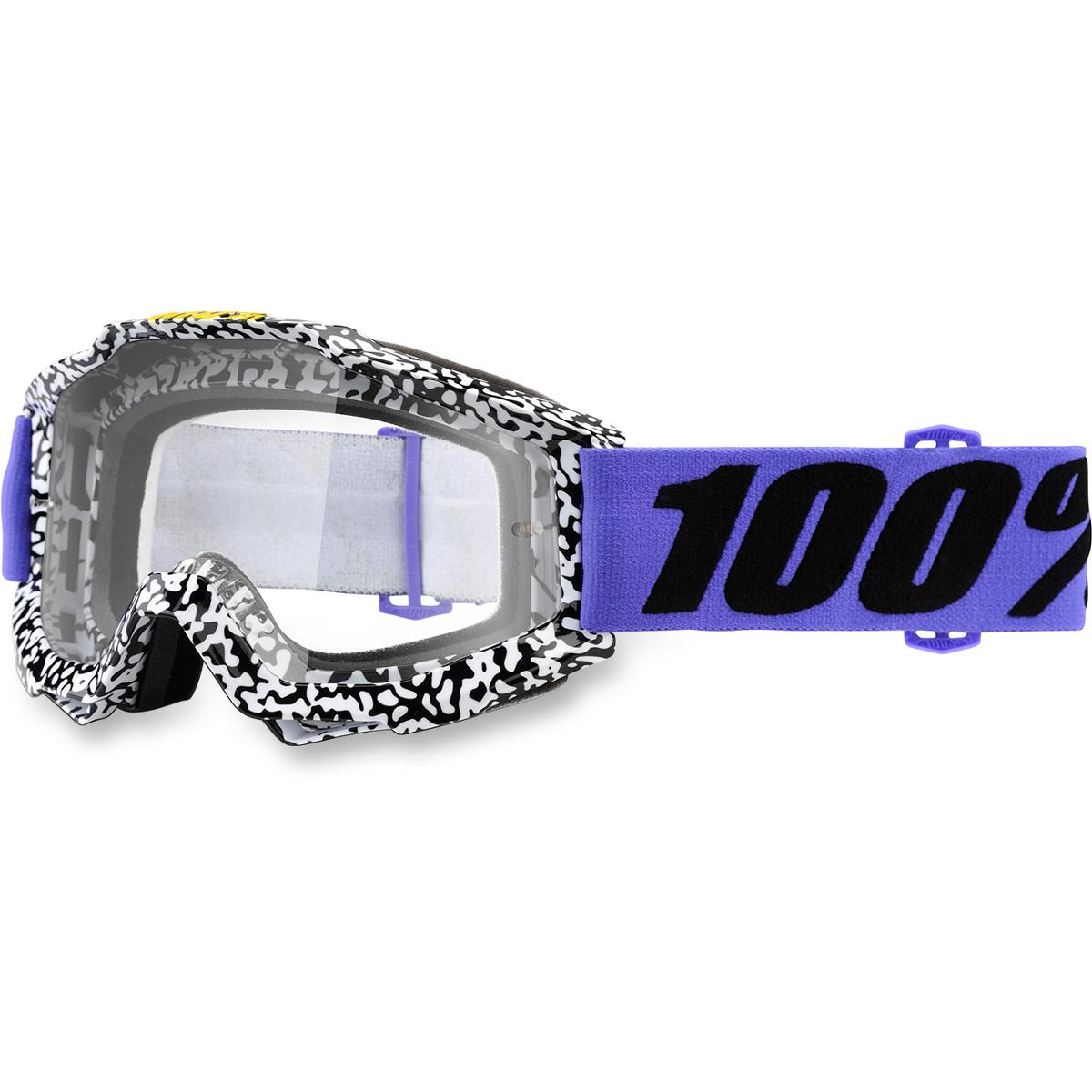 100% Accuri Goggles Fluo Yellow/Clear Lens (Yellow, OSFM)