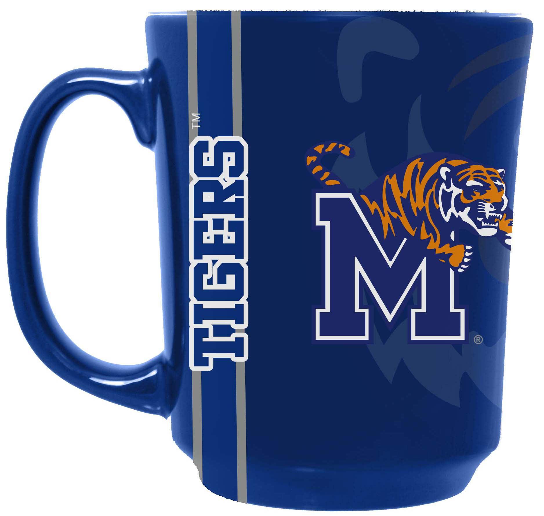 NCAA Reflective Mug, Memphis