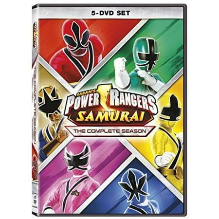 Power Rangers Samurai: The Complete Season (DVD) (Blue Power Ranger Samurai)