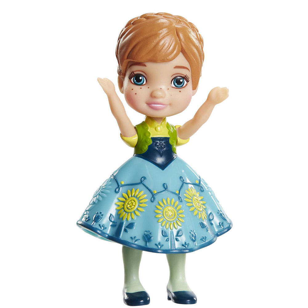 My First Disney Princess 3 inch Mini Toddler Doll - Frozen Fever Anna
