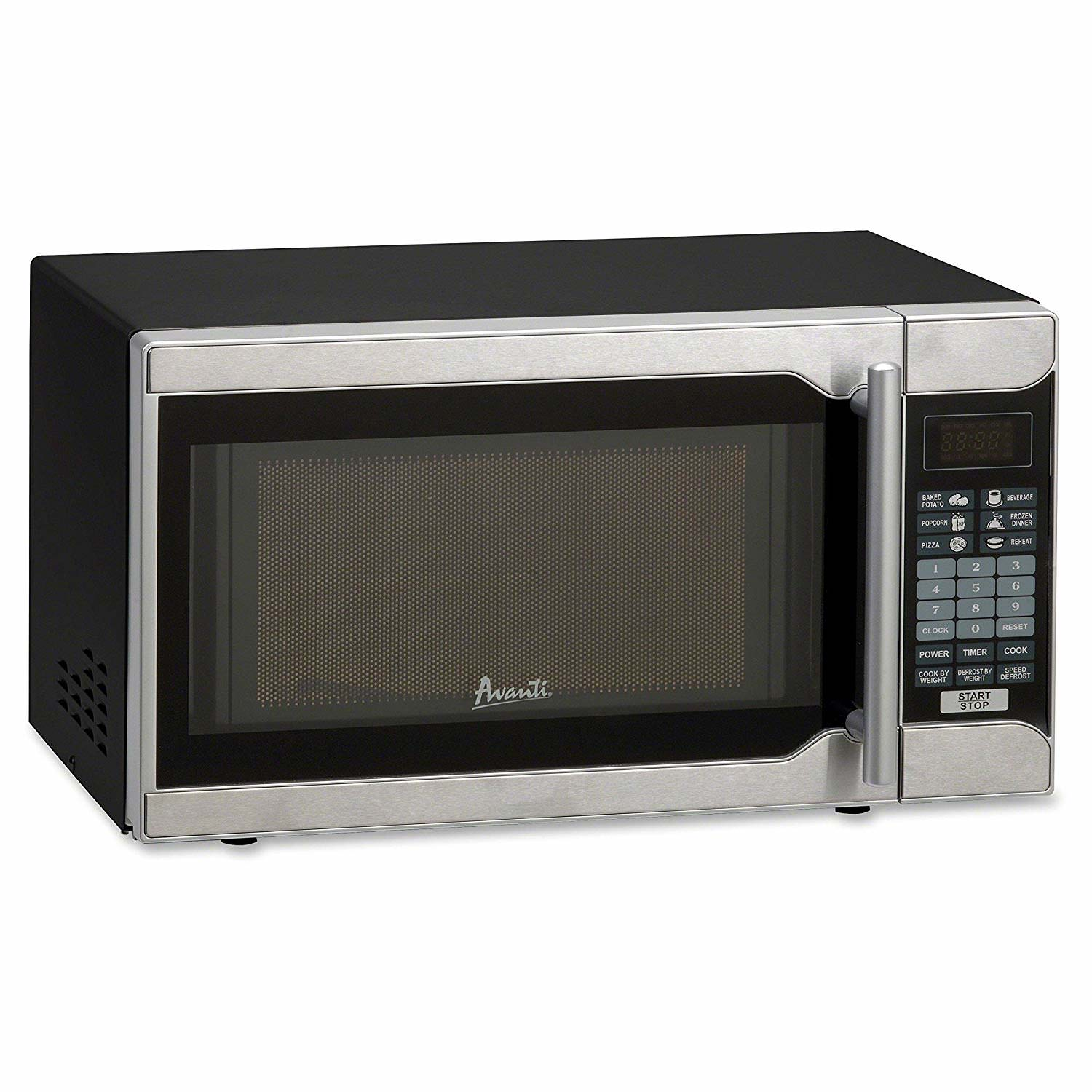 Avanti 0.7 CF Touch Microwave - Black, Stainless Steel