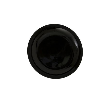 6 1/2L x 3/4H Black Coupe Bread & Butter Plate/Case Of 24
