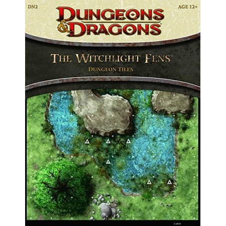 Dungeons & Dragons D&D 4th Edition The Witchlight Fens Dungeon Tiles ()