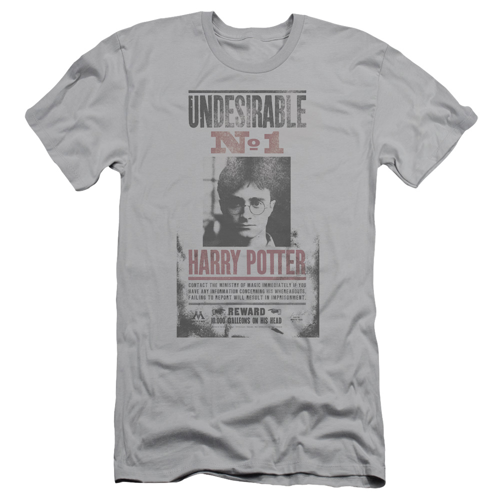 Harry Potter Undesirable No1 Distressed Mens Slim Fit Shirt