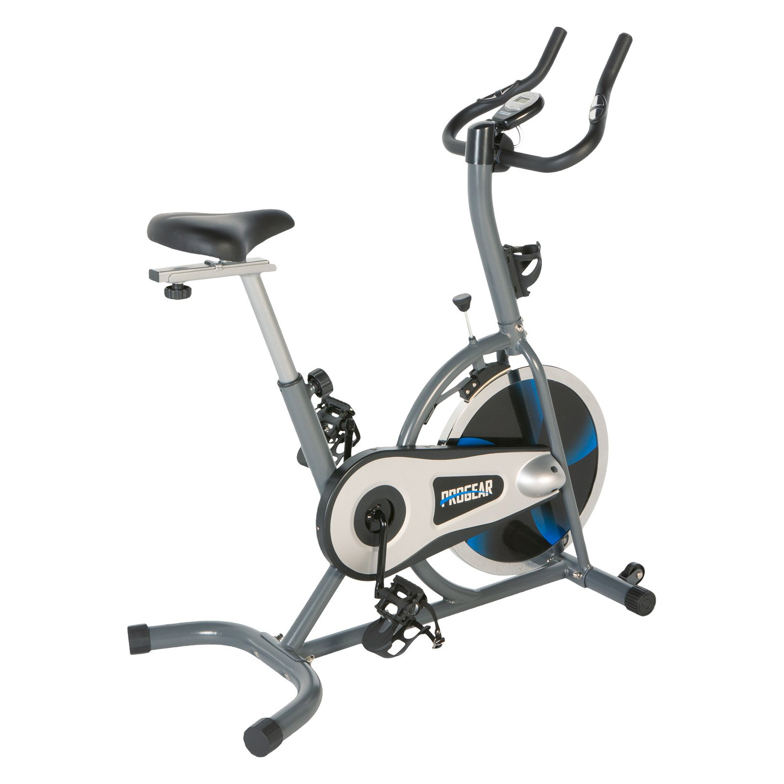 PROGEAR 100S Exercise Bike/Indoor Training Cycle with Heart Pulse