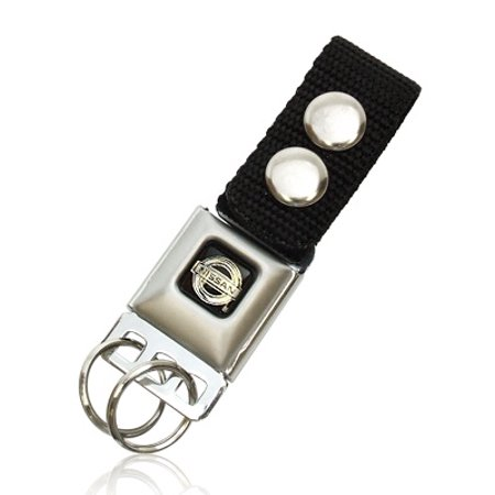 Nissan Logo Seatbelt Buckle Key Chain