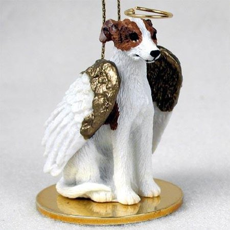 Whippet, Brindle/White Tiny Ones Dog Angels (2 in), Each figurine is carefully hand painted for that extra bit of realism. By Conversation Concepts Ship from US