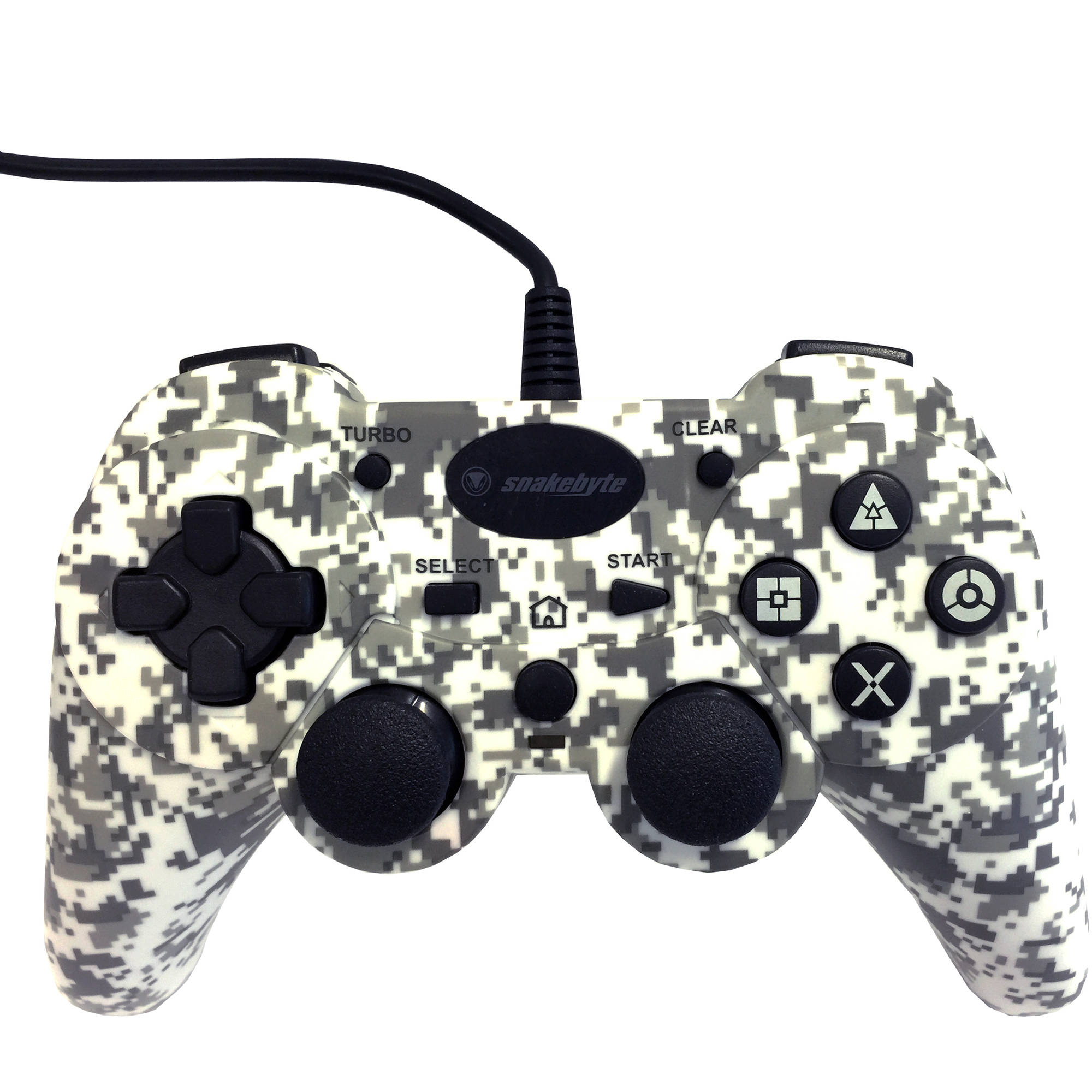 Snakebye PlayStation 3 Wired Controller, Camo