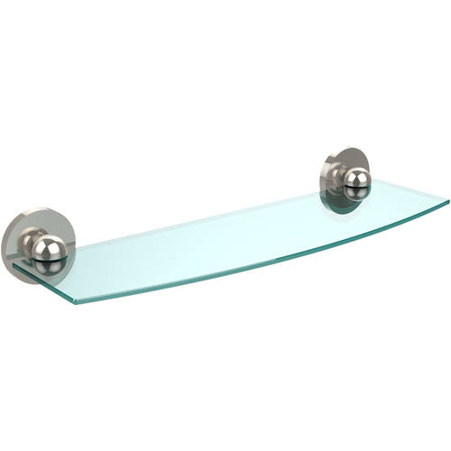 "Skyline Collection 18"" Glass Shelf (Build to Order)"