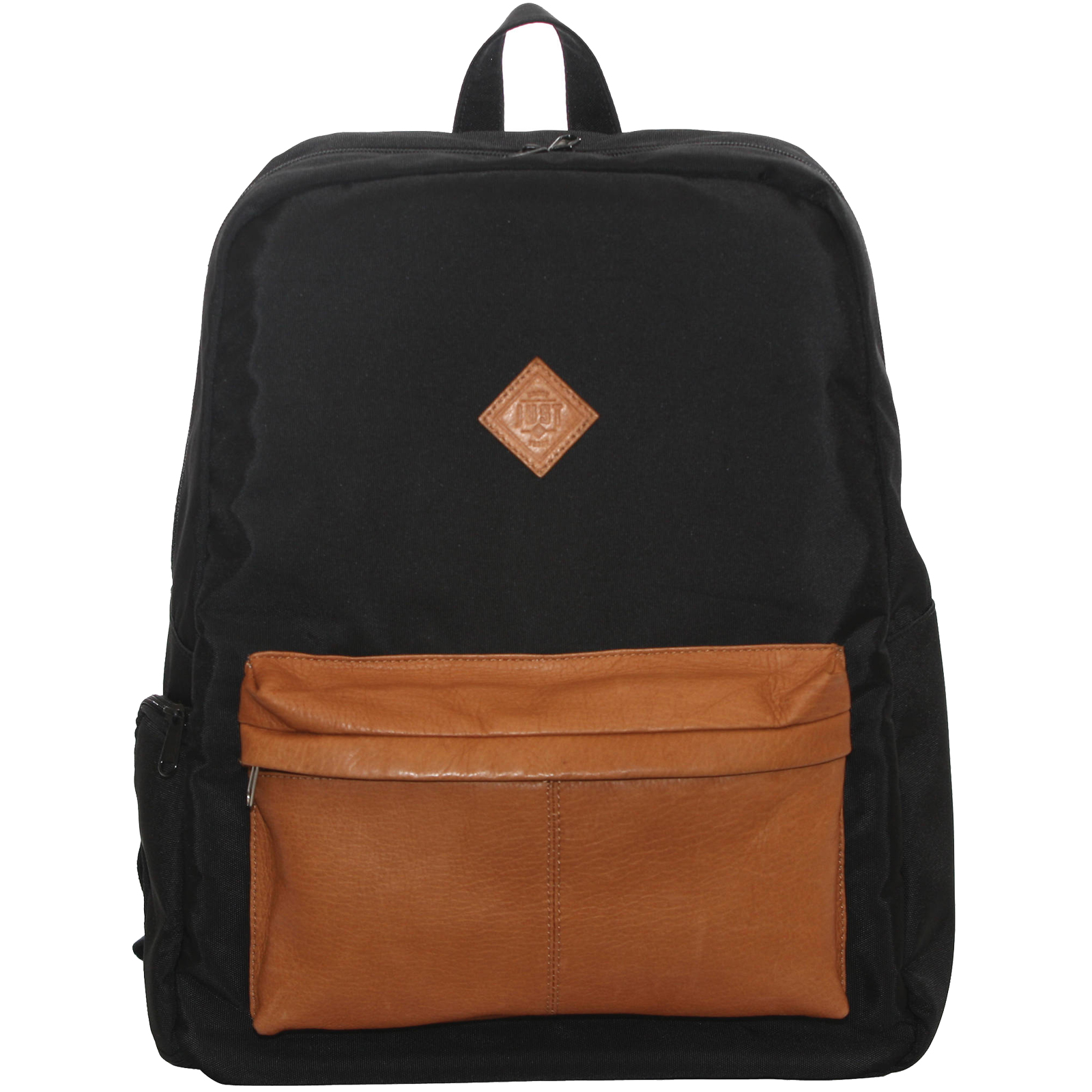 "Jill-E 15"" Just Dupont Laptop Backpack Case (Black/Brown)"