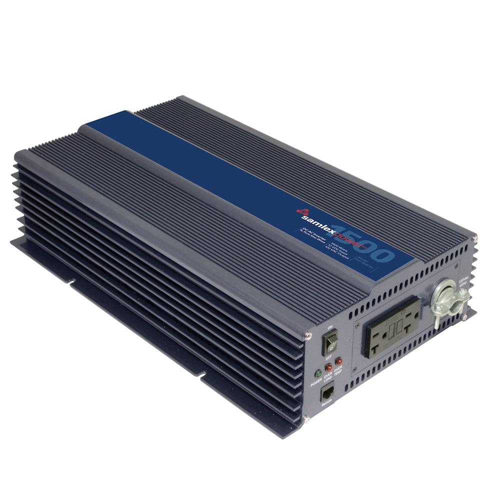 SAMLEX PST-1500-12 PURE SINE WAVE INVERTER 12V INPUT 120