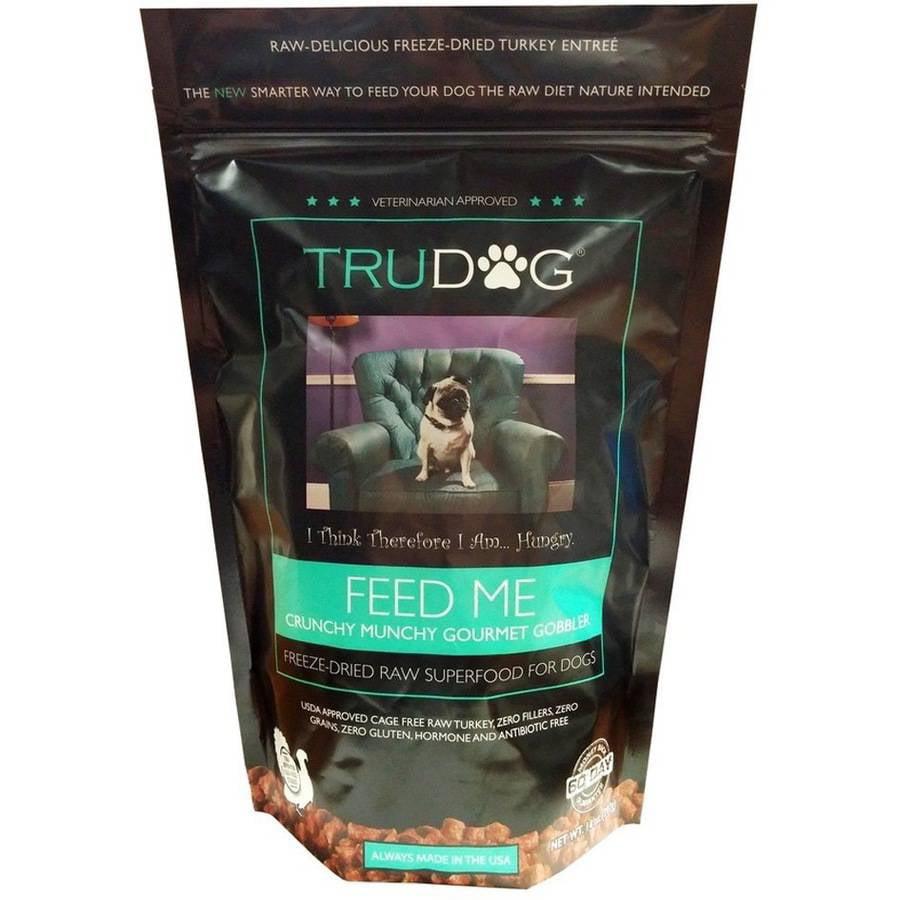 TruDog Feed Me Crunchy Munchy Gourmet Gobble, Turkey, 14 oz