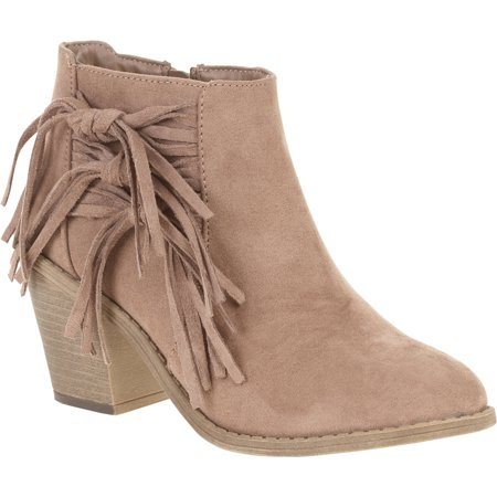 Faded Glory Women's Fringe Heel Boot