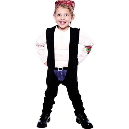 Baby-Toddler-Costume Lil Big Biker Toddler Costume 2T Halloween Costume