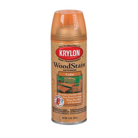 12 oz cedar transparent exterior wood stain semi [set of