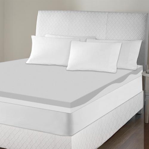 Sinomax Usa Sinomax Sleep 4 Inch Contour Memory Foam Mattress Topper