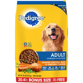 Natures recipe chicken meal and rice adult dry dog food 15 lb pedigree adult complete nutrition roasted chicken rice vegetable flavor dry dog foo forumfinder