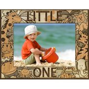Giftworks Plus BBY0022 Little One, Alder Wood Frame, 3.5 x 5 In