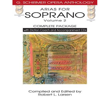 Arias for Soprano, Volume 2 : Complete Package