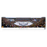 "Boston Bruins vs. Montreal Canadiens 13.5"" x 40"" 2016 Winter Classic Unframed Dueling Panoramic"