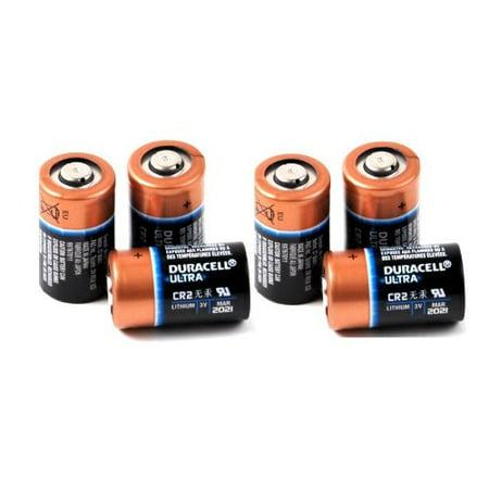 6 Duracell Ultra CR2 3v Lithium Photo Batteries DL-CR2
