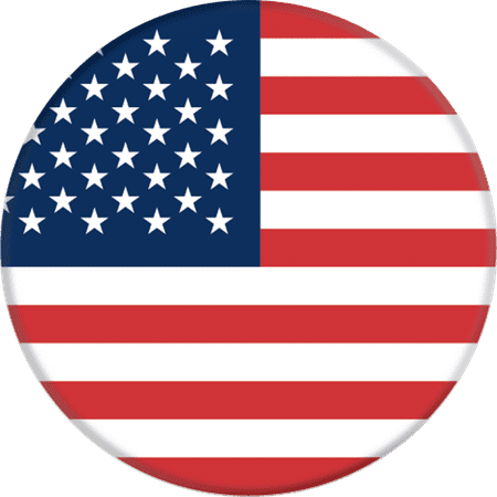 PopSockets: Collapsible Grip & Stand for Phones and Tablets - American Flag - Walmart.com