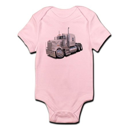 CafePress - CafePress - Kenworth W900 White Truck Infant