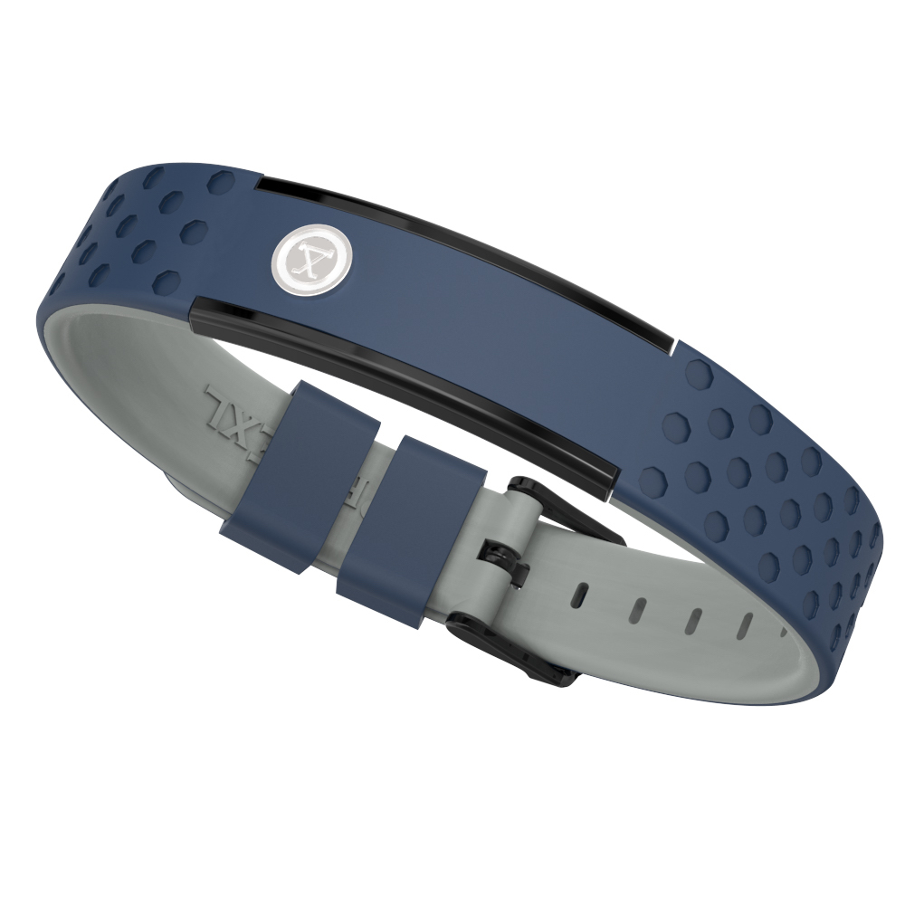 ProExl 9K Sports Golfers Magnetic Bracelet, Swim, Shower, Surf, Wear it Everyday (Blue Gray) by ProExl