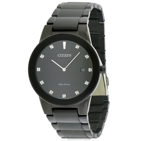 ab8db77f734 CITIZEN - Eco-Drive Axiom Chronograph Mens Watch AU1065-58G - Walmart.com