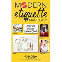 Modern Etiquette Made Easy - eBook