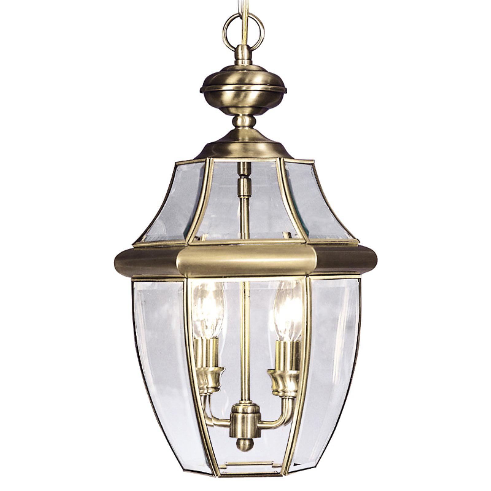 Livex Lighting Monterey 2 Light Outdoor Chain Lantern