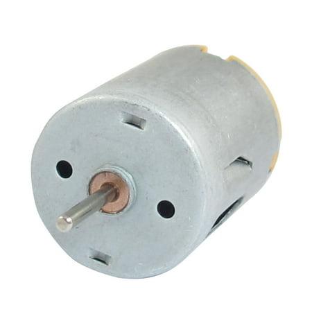 Unique Bargains 9V 20000RPM 2 Pin Connector Permanent Magnetic Micro DC Motor